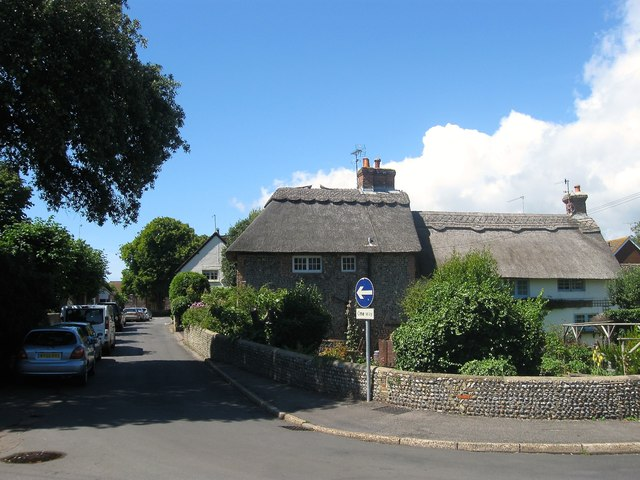 Maytree Cottage/Evergreen Cottage, Church Lane/Ferring Street, Ferring