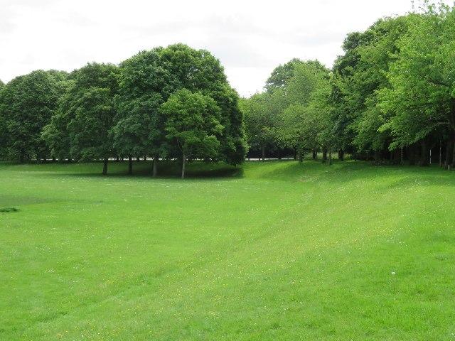 South corner of Stratton Park