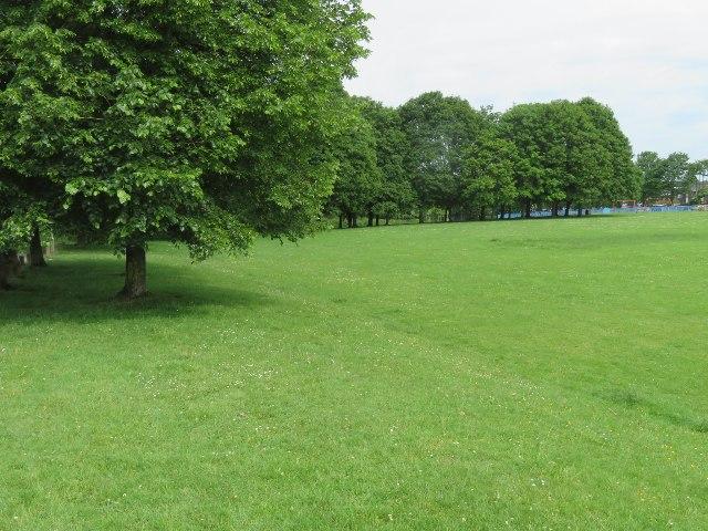 Southwest corner of Stratton Park