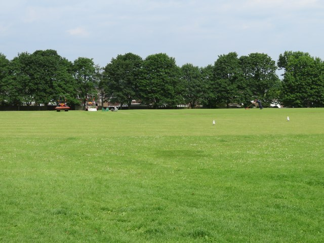 View across Stratton Park