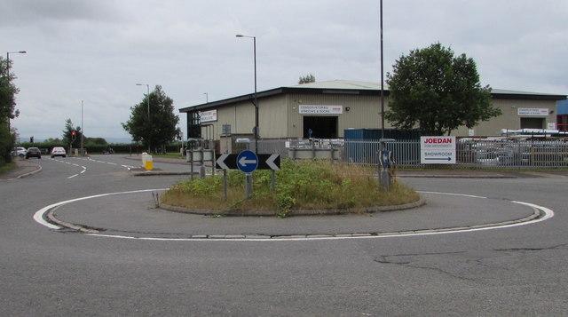 Northway Lane roundabout, Ashchurch