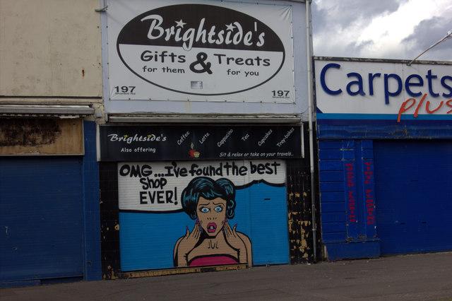 Brightside's Gift Shop, Shankill Road, Belfast