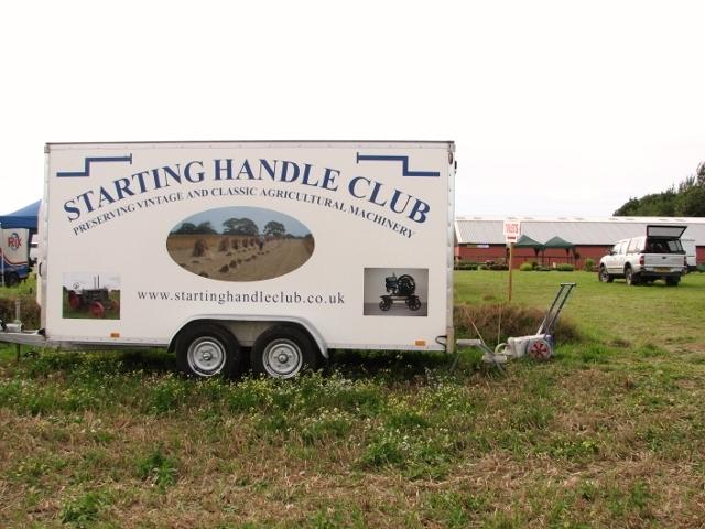 Marsham Starting Handle Club trailer