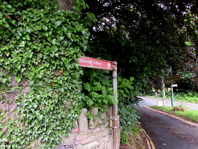 Blorenge this way from Llanfoist
