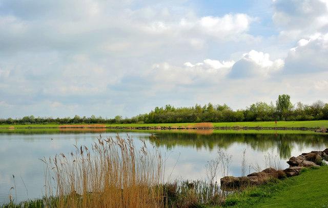 Lake at Anglers Country Park