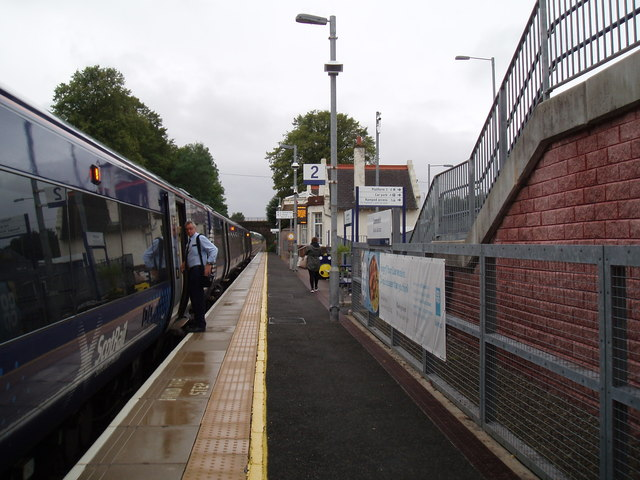 Platform 2 Laurencekirk Rail Station