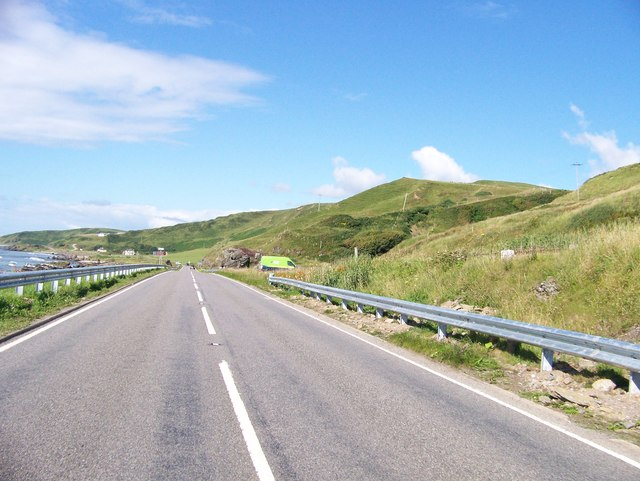 A83 near Tangy