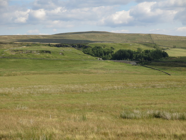 Puddingthorn Pastures east of Clarty Lane