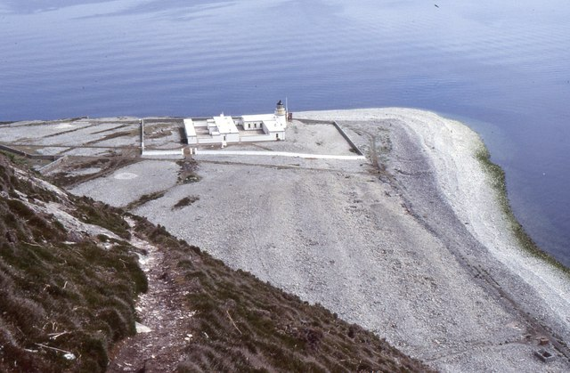 Ailsa Craig Lighthouse, Foreland Point