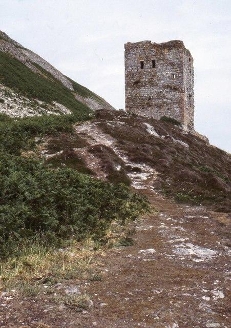 Castle, Ailsa Craig