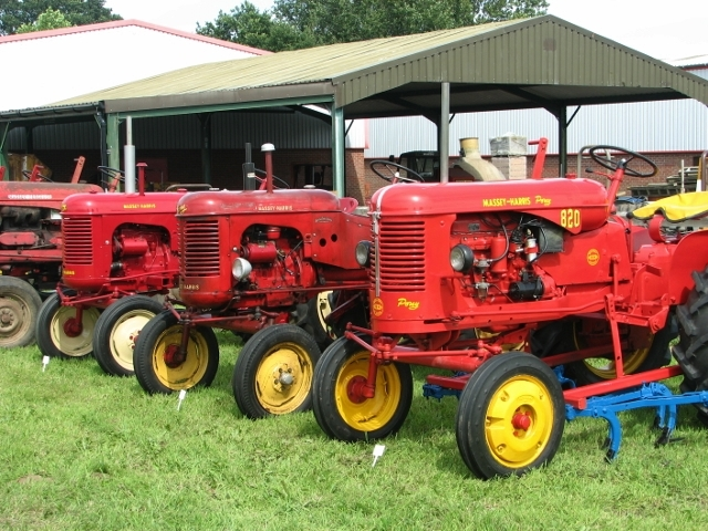 1950s Massey Ferguson Pony tractors