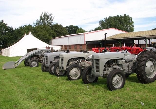 Vintage Ferguson TE 20 tractors
