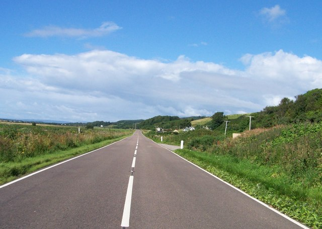 A83 heading to Tayinloan