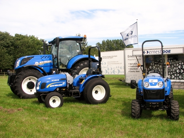 New Holland tractor and quad bikes