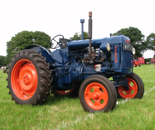 Fordson E27N tractor