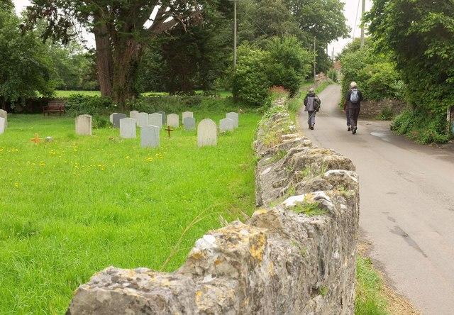 Churchyard, Charlton Adam