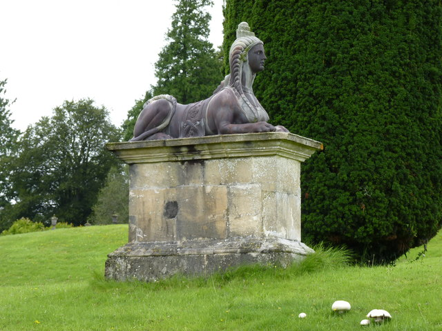Sphinx at Castle Hill House
