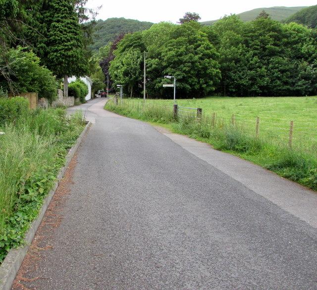 Church Lane, Llanfoist