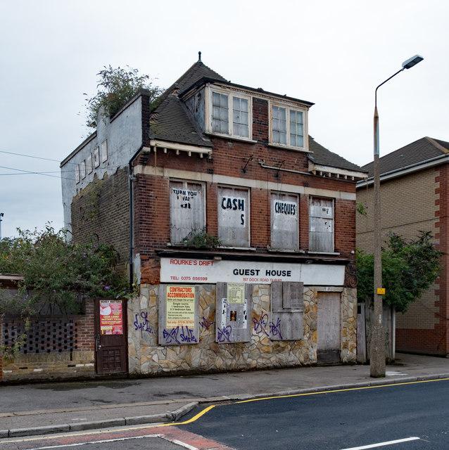 Derelict building, Dock Road, Tilbury