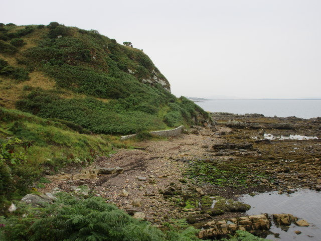 Seashore at Kittock's Den
