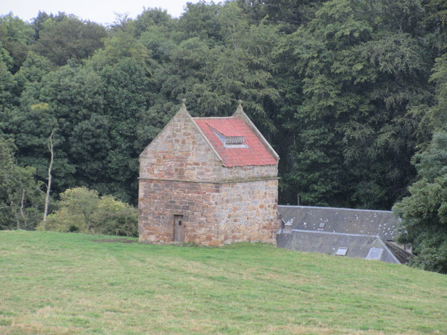 Dovecot from the A917