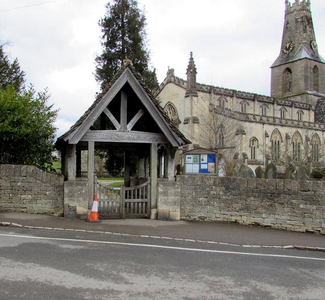Holy Trinity Church lychgate, Minchinhampton