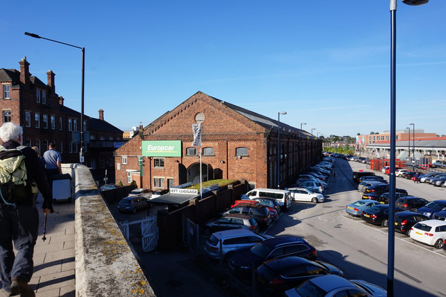 Former railway sheds, York