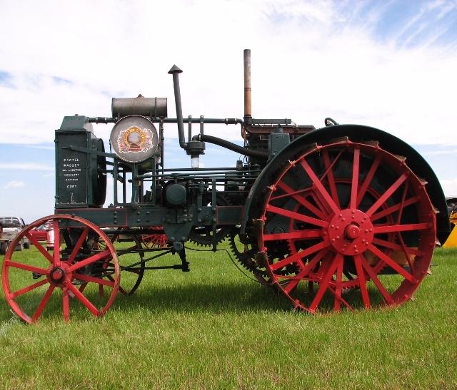 Sawyer-Massey tractor