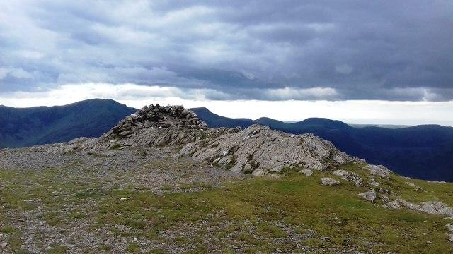 Summit Cairn on Robinson