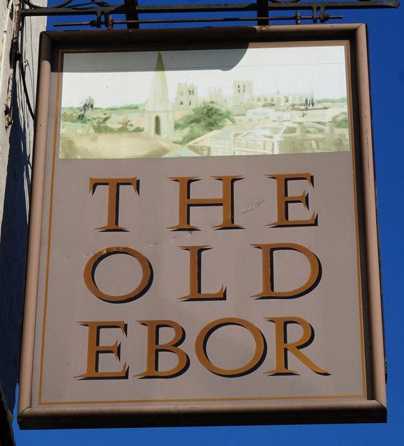 The Old Ebor, Nunnery Lane, York