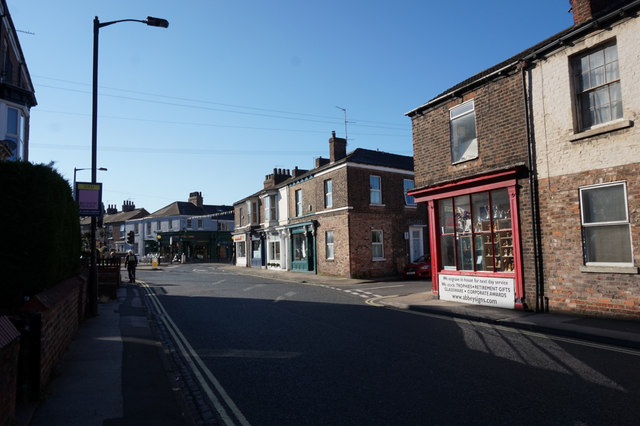 Nunnery Lane, York