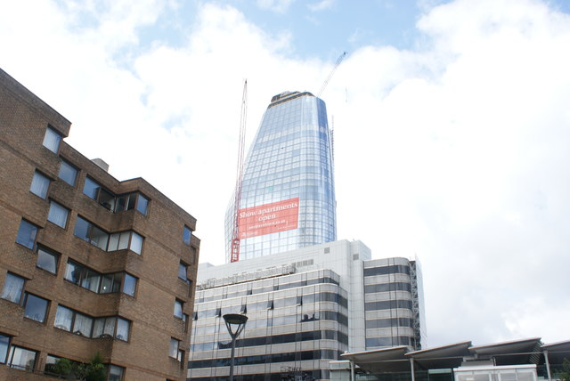 View of One Blackfriars from the South Bank #3