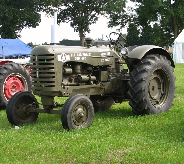 1956 Massey-Harris I-244G USAF tractor