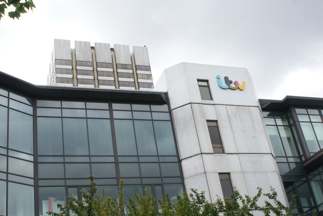 View of the ITV Studios from the South Bank #4