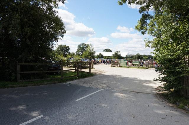 Entrance to York Maze