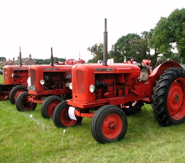 Vintage Nuffield tractors