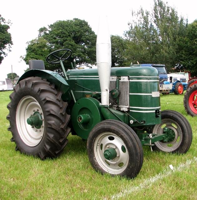 Vintage Field-Marshall tractor