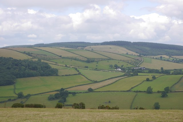 View towards Black Hill