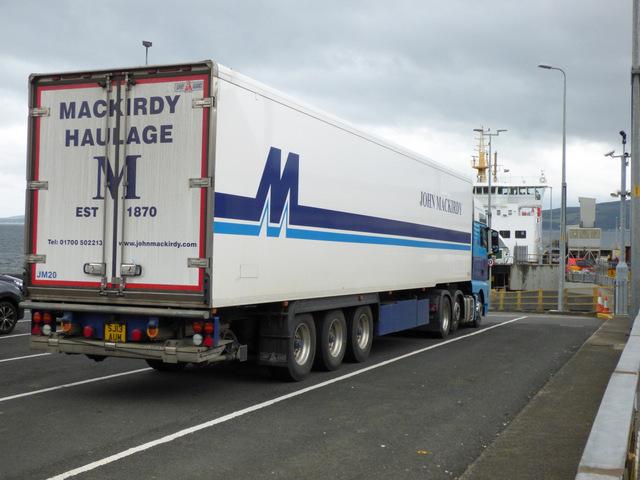 John Mackirdy Haulage truck