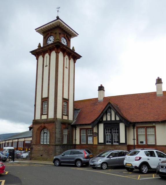 Wemyss Bay railway station tower
