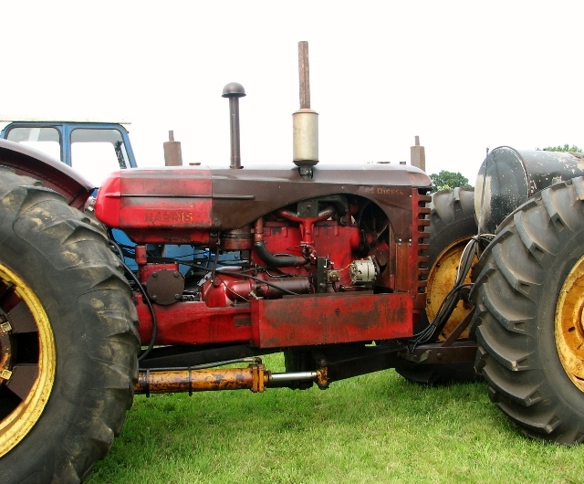 Massey-Harris 55 dual drive tractor - engine
