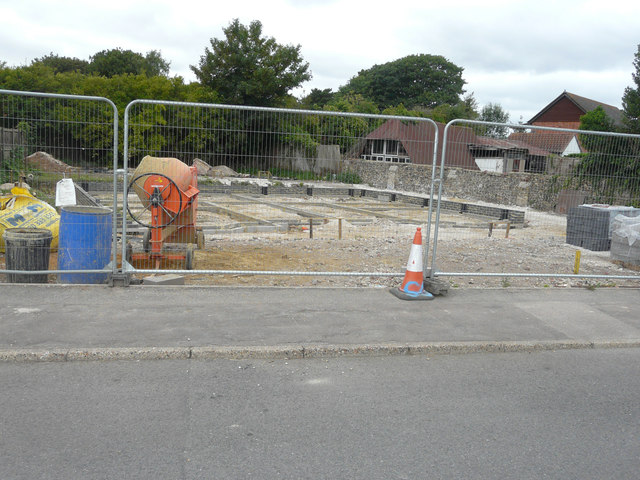 Building site, Jubilee Road