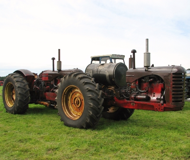 Massey-Harris 55 dual drive tractor
