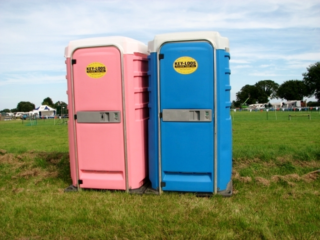 His & Her toilets