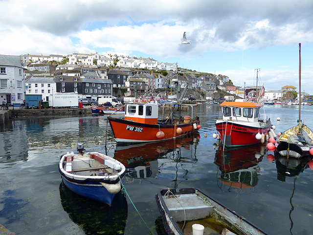Moored at Mevagissey