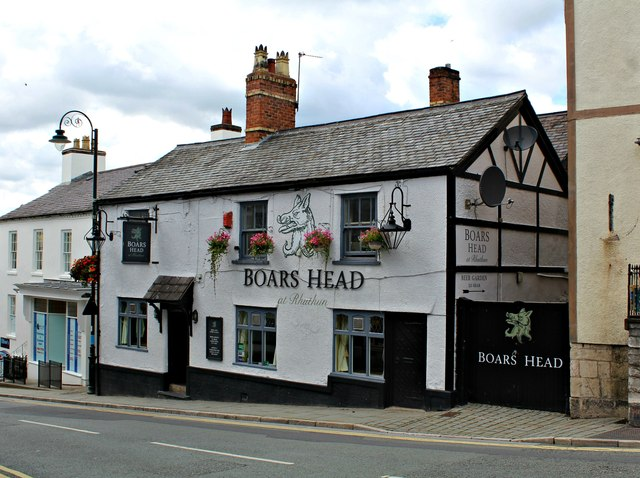 Boars Head, Ruthin