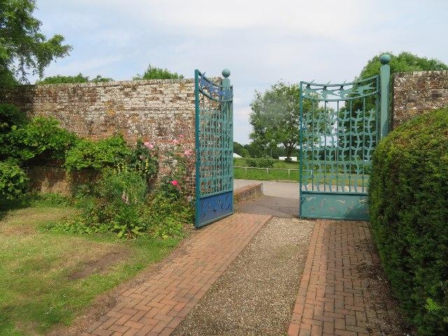 Ornate entrance gate