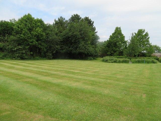 Down Grange walled garden