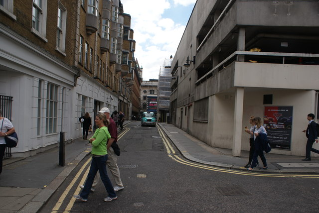 View up Orange Street from Whitcomb Street