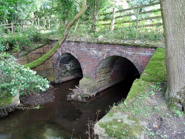 Jebb's Lane crossing the Ecclesbourne